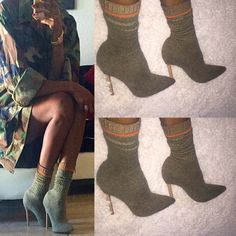 DIY | YEEZY INSPIRED KNIT SOCK BOOTS | INSPIRED BY THENUVOGUE