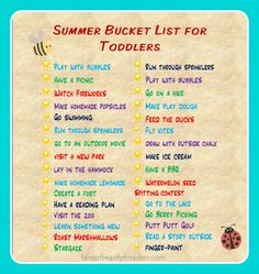 summerbucketlistfortoddlers