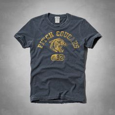Mens Ampersand Mountain Tee | Mens Graphic Tees | Abercrombie.com