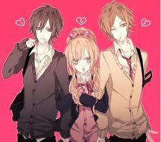 anime hair pink boy - Pesquisa Google