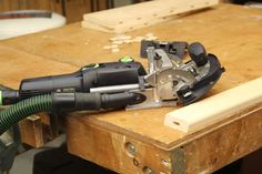 Domino DF 500-Plus Joiner Review  The strength of a mortise-and-tenon joint in a hand-held tool is what makes the Festool Domino Joiner DF 500-Plus unique.  No other manufacturer makes a portable mortising machine like the Domino.  Many folks confuse the Domino with a biscuit joiner as the tool looks, and works, much like one.   But don't be fooled: the Domino is NOT a biscuit joiner.