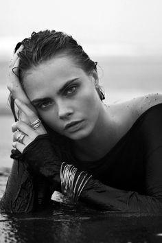Cara Delevingne  Photographed by: Sebastian Faena