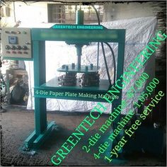 GREENTECH ENGINEERING from Surat, Gujarat (India) is a manufacturer and supplier of Disposable Glass Making Machine, Dona Making Machine at the best price. Electricity Consumption, Making Machine, Electric Motor, Paper Plates, Paper Size, Engineering, Glass, Drinkware, Corning Glass