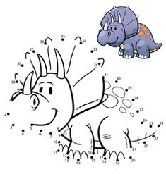 Illustration about Vector Illustration of Education dot to dot game - Dinosaur. Illustration of character, illustration, small - 65067256 Snowman Coloring Pages, Cool Coloring Pages, Animal Coloring Pages, Mazes For Kids Printable, Free Printable Worksheets, Free Printables, Tracing Worksheets, Cat Vector, Pranks