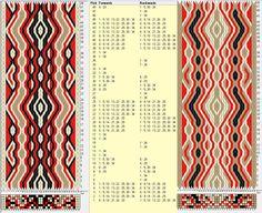 34 tarjetas hexagonales, 4 colores, repite cada 20 movimientos // sed_519_c6 diseñado en GTT༺❁