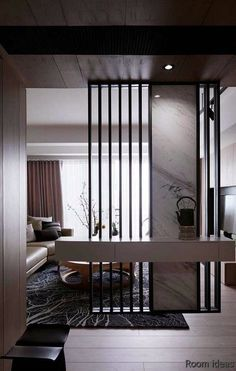 divisorio 42 Stunning Modern Partition Design Ideas For Living Room - Eclectic Living Room, Living Room Modern, Interior Design Living Room, Living Room Decor, Small Living, Contemporary Living Room Designs, Living Rooms, Modern Design, Living Room Partition Design