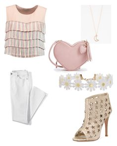 """""""Romantic"""" by guillecas ❤ liked on Polyvore featuring Alexis, Alice + Olivia, Lands' End, Full Tilt and Humble Chic"""