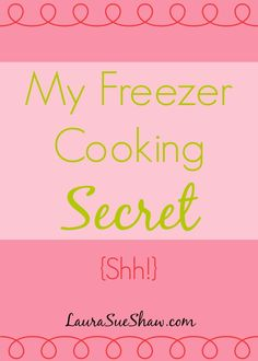"""I love the idea of freezer cooking. I'm not quite to the point of making one of those """"30 meals in 4 hours"""" marathon cooking sessions. It's just me and my husband, so we probably couldn't get through all those meals before they go bad. It doesn't mean I don't someday want to do a session like that – I could give extras to family and friends – but for now, this little secret is what I'm sticking to because  {Read More}"""