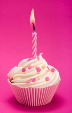Pink birthday cupcake happy birthday to me Happy Birthday Lucy, Pink First Birthday, First Birthday Cupcakes, Pink Birthday Cakes, Happy 1st Birthdays, It's Your Birthday, Birthday Parties, Birthday Ideas, Birthday Cheers