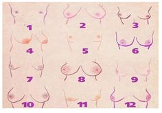 All Women's Breasts Are Beautiful! But Here's What Your Breasts' Shape Says About Your Personality