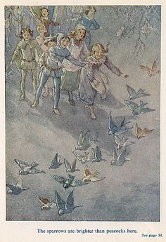 The Pied Piper of Hamelin - Sparrows