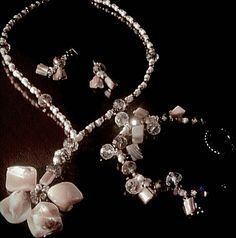 Mother of pearl set.