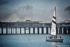 Sailing off of SC Boardwalk at Cowll's