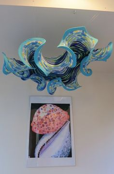 Blue Wave Surface by Gabi Meyer