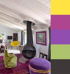 CMYLK: Maria Lladros Colorful Interiors
