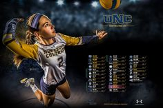 2016 Northern Colorado Volleyball Poster