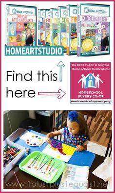 Home Art Studio on Homeschool Buyers Co-op