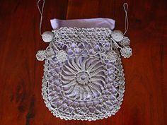 Ravelry: Princess Louise Crocheted Bag No. 275 pattern by Corticelli