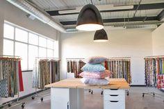Gorgeous Toronto Fabric Store ~ Tonic Living tonicliving.com