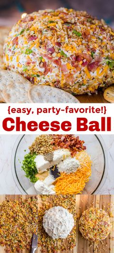 How to Make a Cheese Ball (SO EASY!) How to Make a Cheese Ball (SO EASY! Creamy cheese ball with cheddar cheese, bacon bits and Ranch seasoning. This is the ultimate appetizer for parties and around the Holidays. Appetizers For Party, Appetizer Recipes, Bacon Appetizers, Quick Appetizers, Thanksgiving Recipes, Holiday Recipes, La Marmite, Cheese Ball Recipes, Cheddar Bacon Ranch Cheese Ball Recipe