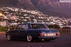 Mercedes W115 stance Cape Town