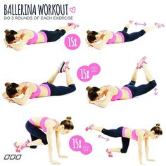 Get those ballet buns with these fab moves!