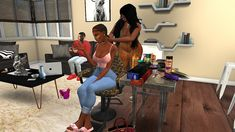 Afro Hair Sims 4 Cc, Sims Hair, Sims 4 Game Mods, Sims Mods, Sims 4 Mods Clothes, Sims 4 Clothing, Sims 4 Couple Poses, Sims 4 Piercings, Sims 4 Family