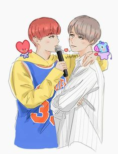 Read VHope from the story Imagenes y Gifs de BTSxBTS (Daddy Kink y Mommy Kink) by -_BadGirl-Rose_- (❤Pirrata Rose❤) with reads. Namjin, Jikook, Vhope Fanart, Taehyung, Army Love, 19 Days, Bts Drawings, Wattpad, Rap Monster