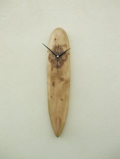 Wall Clock Surfboard Long board Hawaiian by OceanArtsNorthDevon