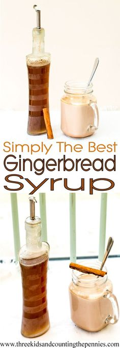 Pour this stick syrup into a decorative bottle and tie a festive ribbon around the neck for a delicious, homemade gift that your family will love.