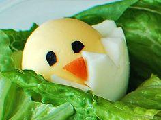 hardboiled egg chick