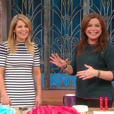 Candace Cameron Bure on Rachael Ray Show.  Some cute ideas for the Super Bowl and Oscar Night with kids.