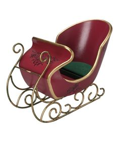 Look at this 18'' Doll Victorian Sleigh Set on #zulily today!