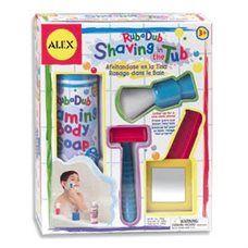 Rub a Dub Shaving in the Tub