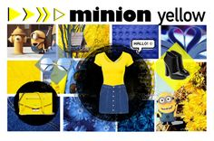 """""""Minion Revolution :)"""" by fiore92 ❤ liked on Polyvore featuring Piaget, MANGO and Giuseppe Zanotti"""