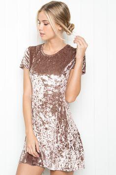 Brandy ♥ Melville | Meari Velvet Dress - Clothing