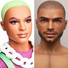 Ooak Dolls, Blythe Dolls, Barbie Dolls, Art Dolls, Barbie Fashionista Dolls, Realistic Dolls, Ken Doll, Doll Repaint, Barbie Collection