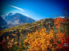 View from Baltit Fort, over looking Karimabad, Pakistan.