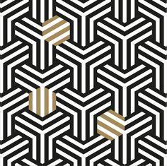 #apointun #pattern #blackandgold #graphic #hexagone Saint Denis, Thing 1, Stencils, Kids Rugs, Pattern, Home Decor, Arabesque, Tatoo, Block Prints