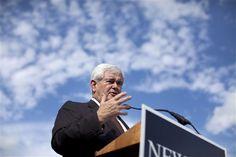 17 #prezpix #prezpixng election 2012 candidate: Newt Gingrich publication: abc news photographer: AP Photo publication date: 3/3/12