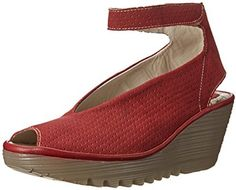 Fly London Women's Yala Perforated Wedge Pump on shopstyle.com