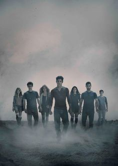 Yea this happened! I went and let myself get into this show...like stupidly into it. It all started once I discovered 2nd from the left..Mr. Dylan O'Brien/Stiles Stilinski