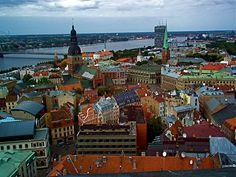 Riga, Latvia one day I would like to see where my family came from