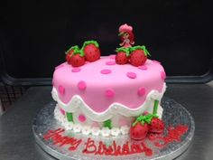 strawberry shortcake cake Strawberry Shortcake Birthday, Goodies, Cakes, Desserts, Food, Strawberry Fruit, Pies, Sweet Like Candy, Tailgate Desserts