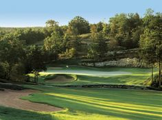 Branson Creek Golf Club, Branson, MO.  Tom Fazio design.