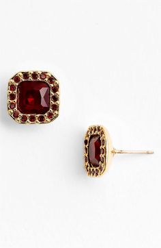 kate spade new york pavé surround stud earrings available at #Nordstrom