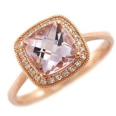 pink diamond and rose gold. How you say no to this??