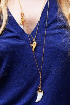 NYC #streetstyle necklaces from House of Lavender