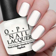 A soft white nail polish that's irresistibly sweet.