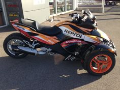 Kit Décoration Replica Repsol – Can Am Spyder RS